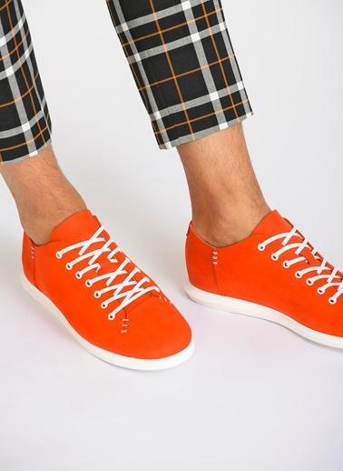 D by Divarese  Deri Sneaker Mercan